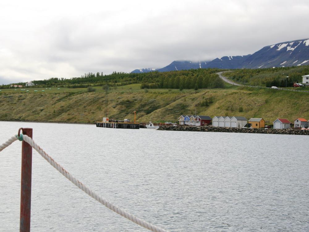 Hafen von Hjalteyri