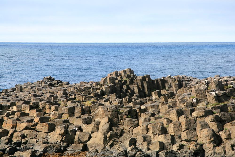 Basalt bei Kálfshamarsvik