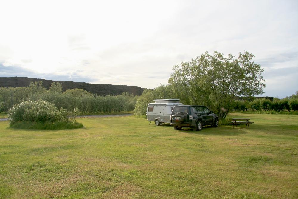 Campingplatz Ásbyrgi