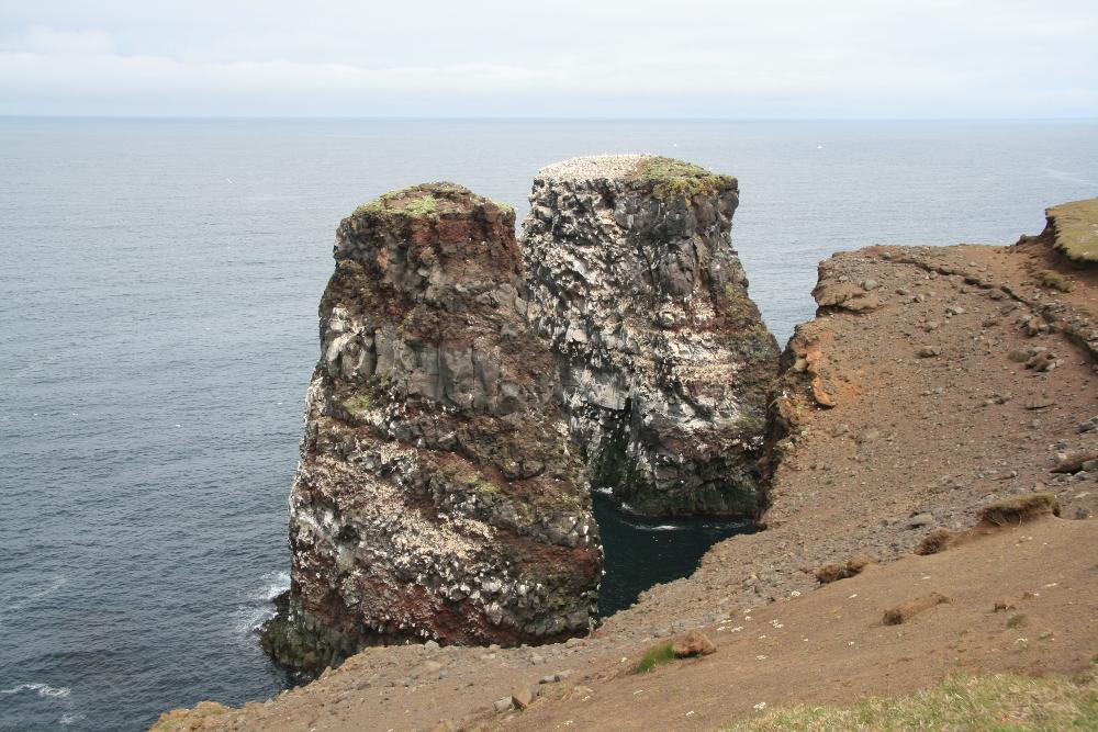 Zwei Felsnadeln