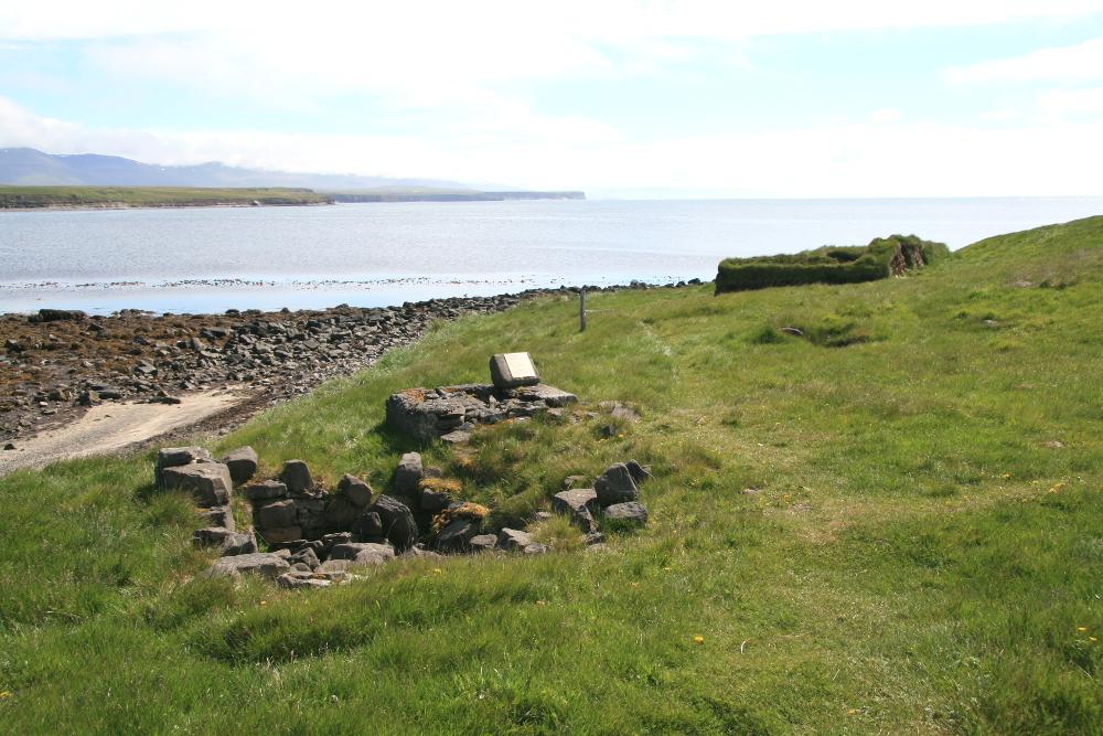 Ruinen in Kálfshamarsvík