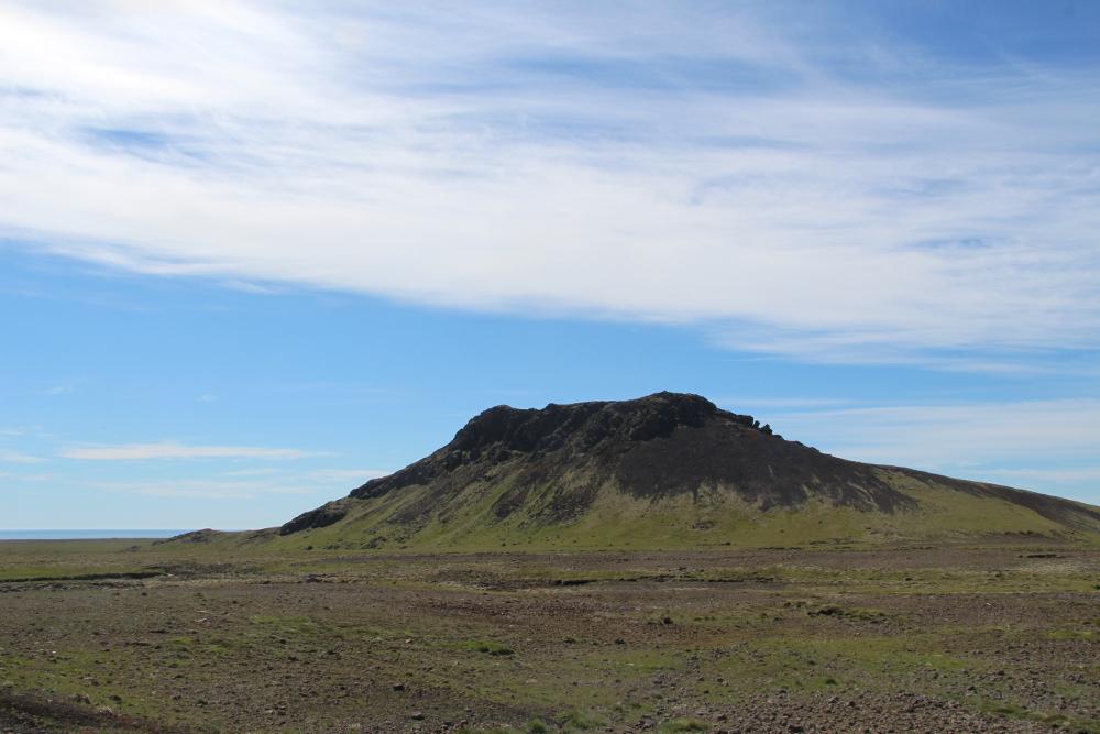 Auf dem Weg nach Krýsuvík