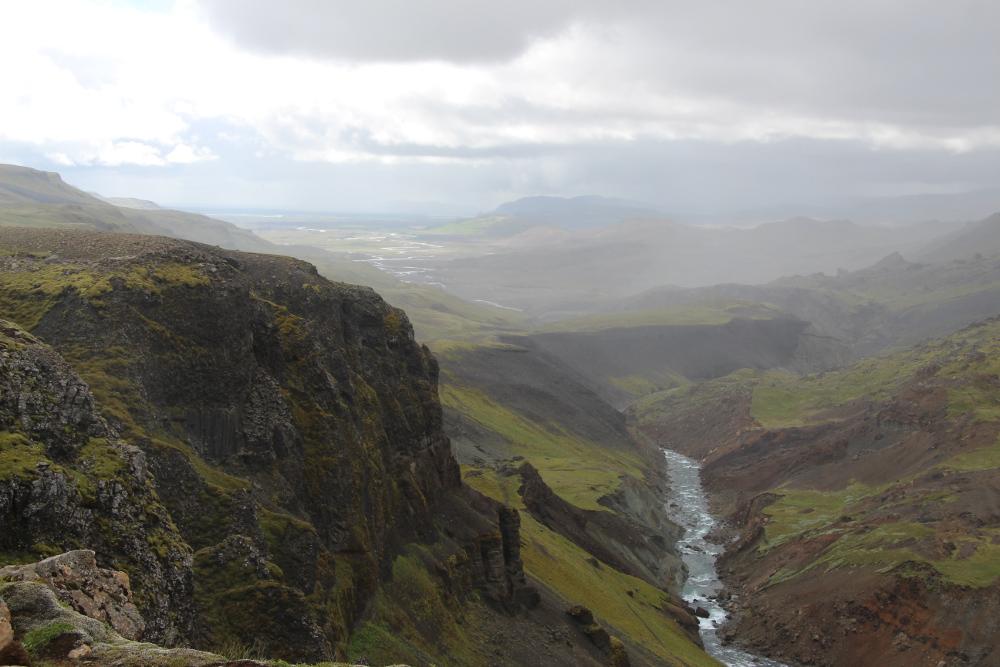Fossá í Þjórsárdal