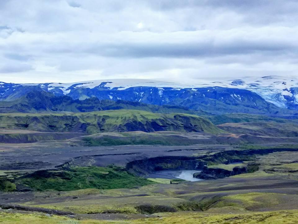Eyjafjallajökull, Þórsmörk, Markarfljót