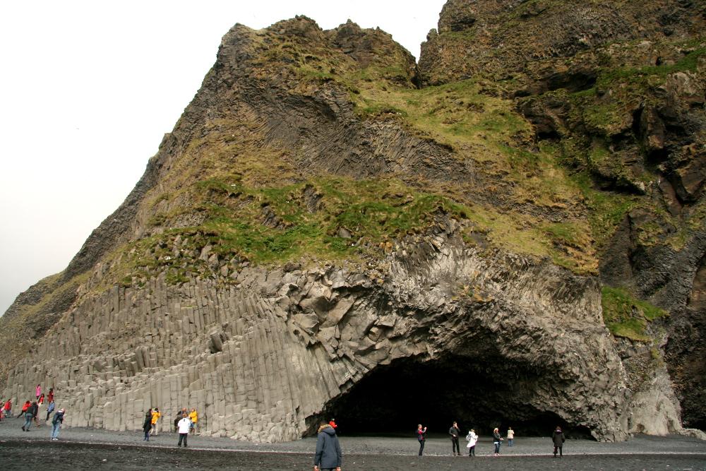 Basaltformationen bei Reynisfjara