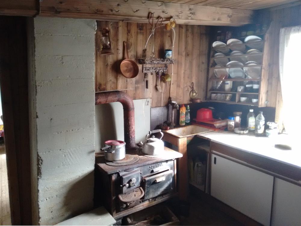 Küche im alten Haus